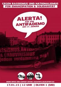 Demoplakat 17. Januar